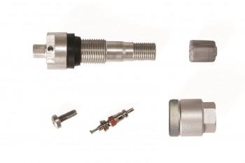 SK 5031-10 Metallventil f. Schrader EZ Reifendrucksensor TPMS RDKS Ventil FFRR
