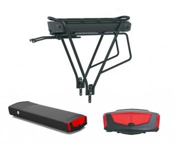 Li-Ion Akku E-Bike Umbausatz schwarz 36V 13.6 Ah Samsung 18650