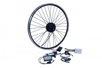 "E-Bike Umbausatz Nabenmotor NCB 250W 28"" Hinterrad  f. Kassette 8/9/10 RWD Kit Disc + V Brake Wasserfest IP65 36V"