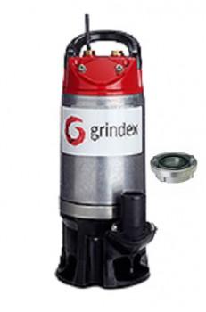 GRINDEX SOLID Storz Schlammpumpe Storz C 25 qm/h - 420l/min 230V