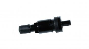 RDKS Alu Ventil schwarz für Schrader Gen4 und EZ Sensoren ( clamp in ) Metallventil , Zubehör FRFR