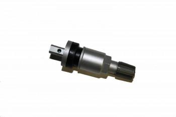 RDKS Alu Ventil silber für Schrader Gen4 und EZ Sensoren ( clamp in ) Metallventil , Zubehör FFRR