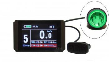 Farbdisplay f. NCB Kits und Kunteng Controller KT36ZWSR-NSK23X