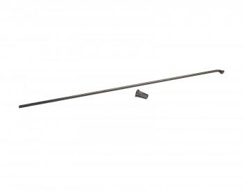 Speiche 224mm silber 12G 2,6mm mit Schraubnippel