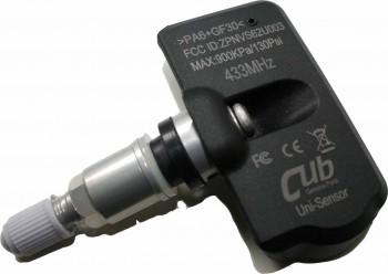 RDKS silber unprogrammiert TPMS 433MHZ Cub Universalsensor