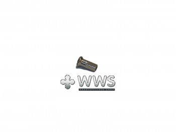 WWS spoke nipples 13G (2,34mm) nickel-plated brass