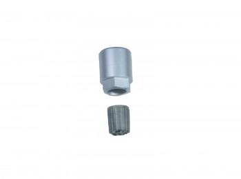 10x RDKS 17811 Ventilkappe + Aluminium Mutter Reifendrucksensor Radsensor TPMS