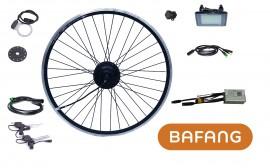 """BAFANG 250W 36V 28"""" Vorderrad FWD Kit IP65 C961 G311 schwarz eingespeicht Lichtanschluss E-Bike Umbausatz Nabenmotor"""