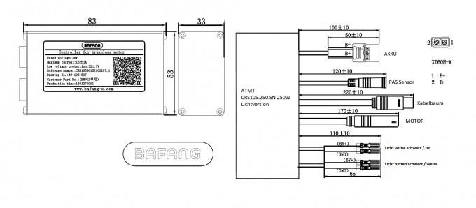 BAFANG 250W 36V 28