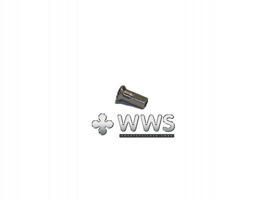 WWS Speichennippel 13G (2,34mm) Messing vernickelt