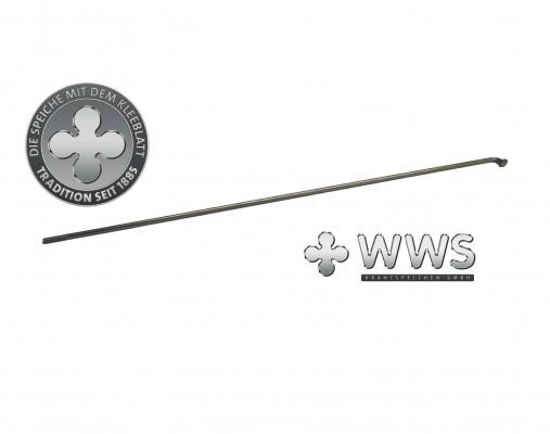 """WWS Edelstahl VA Speiche 241mm 13G 2,34mm ( BAFANG G311 28"""" )"""