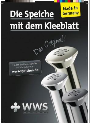 WWS Edelstahl VA Speiche 241mm 13G 2,34mm ( BAFANG G311 28