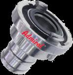 A- Schlauchkupplung mit Stutzen 100mm Storz A Schlauchkupplung Aluminium