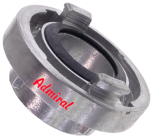 "A-coupling with core thread - G 4"" Storz A coupling alloy ( aluminium )"