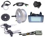 BAFANG 250W 36V rear wheel screw 6 / 7 RWD Kitwaterproof IP65 C961 G020 Lightconnector E-Bike conversion Kit hub motor