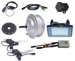 BAFANG 250W rear wheel screw 6 / 7 RWD Kitwaterproof IP65 36V C961 E-Bike conversion Kit hub motor